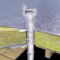 Kominek do dachy płaskiego